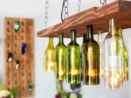 Wine Bottles With Lights Brighten Up With These Diy Home Lighting Ideas Hgtv U0027s Decorating