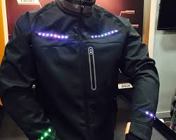 light cycling jacket this cycling jacket offers turn by turn directions bicycling