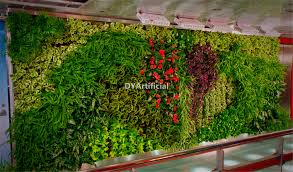 Imitation Plants Home Decoration Custom Design Indoor Artificial Plants Wall For Home Decoration