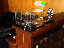 steampunk news reader at home every home should have one