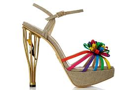 wedding shoes rainbow wedding shoes rainbow and gold