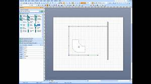 Cubicle Floor Plan by Visio Office Cubicle Layout Part 1 Youtube