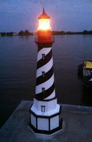 decorative lighthouses for lawns iron