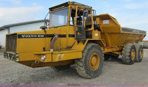 volvo haul trucks for sale volvo a20 6x6 articulated haul truck item c5368 sold ma