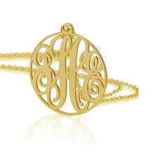 Monogram Initials Necklace Cheap V Initial Necklace Find V Initial Necklace Deals On Line At