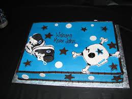 skullitude boy skull baby shower cake rockin u0027 baby shower and