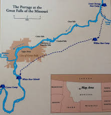 Lewis And Clark Expedition Map Day 1 Lewis U0026 Clark Arrive At The Great Falls Old Age Is Not