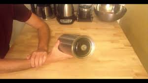 coffee canister review the airscape youtube