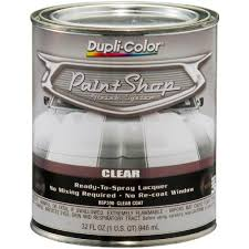 dupli color paint shop finish system gloss clear coat 32 oz