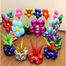 flowers and balloons 10 new arrival flower foil balloons lovely five disc flowers