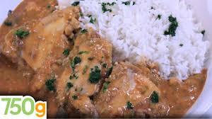 750g recette de cuisine recette de maffé de poulet 750g