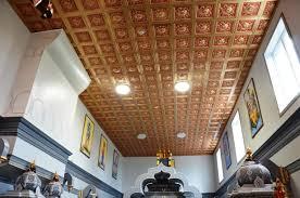 talissa decor diy pvc faux tin ceiling tile 215 gold red