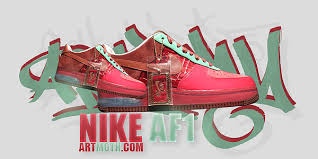 nike air force one layout