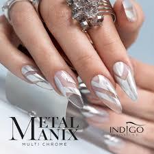 metalmanix multi chrome nails nail indigo metalmanix