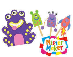 mister maker super space puppet kit kids craft gift set