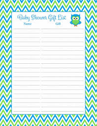 baby shower gifts list home design inspirations