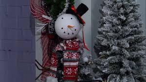 2016 christmas decorating theme frosty entrance youtube