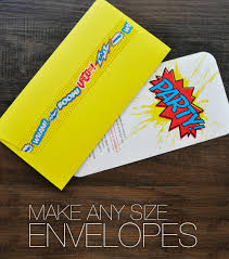 How To Fold Paper For Envelope Make Your Own Envelopes In Any Size U2014 The Asylum