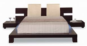 headboard with nightstand attached bed frame nightstands for the