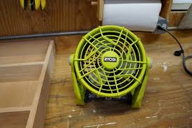 ryobi fan and battery ryobi 18v portable fan review p3310 tools in action power tool