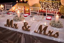 amazing bride and groom table setting ideas decor design and