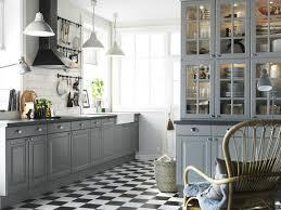 deco cuisine grise et cuisine grise et bois