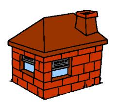 casa tijolo brick house pigs andrep25 deviantart