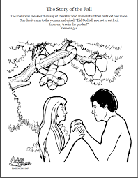 bible stories for toddlers coloring pages adam and eve coloring page script and bible story http