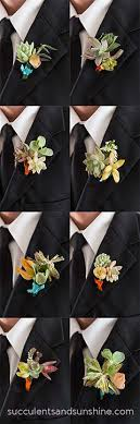 how to make boutonnieres how to make succulent boutonnieres for your diy wedding