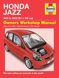 honda car manual honda jazz 02 08 haynes repair manual haynes publishing