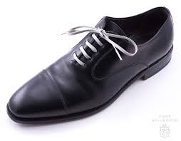 light grey dress shoes light grey shoelaces flat waxed cotton luxury dress shoe laces by