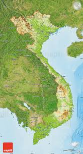 Map Vietnam Physical Map Of Vietnam Satellite Outside Shaded Relief Sea