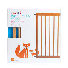 Munchkin Baby Gate Banister Adapter Push To Close Wood