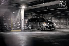 land rover range rover sport matte black ag luxury wheels range rover sport svr forged wheels