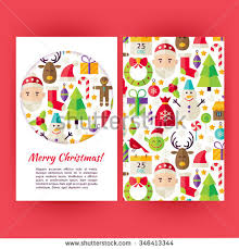 vector merry christmas banners christmas stock vector