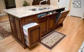 how to build a kitchen island with sink and cabinets flat kitchen island or step up island