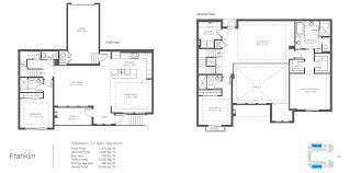 franklin model 3 bed 3 5 bath floor plan 3 338 square feet scott