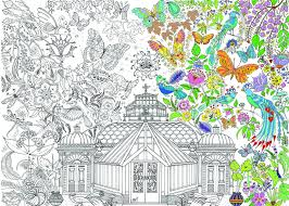 house colouring garden glass house colouring poster u2013 reallygiantposters com