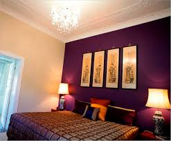 purple color bedroom also beautiful light colours of house inside