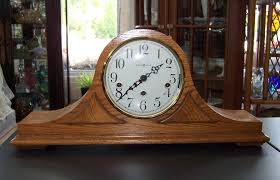 Howard Miller Chiming Mantel Clock Triple A Resale Howard Miller 2 Jewel Oak Mantel Clock