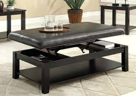coffee table top ideas table top ottoman coffee tables ideas flip top ottoman coffee table