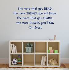 the more you read dr seuss wall decal kids room decor zoom