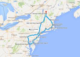 Massachusetts State Map by Computing Optimal Road Trips On A Limited Budget Dr Randal S Olson