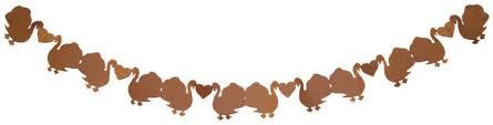 thanksgiving turkey paper chain craft