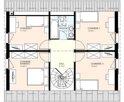 plan etage 4 chambres villamia plans2