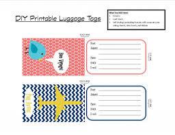 top 25 best printable luggage tags ideas on pinterest kids