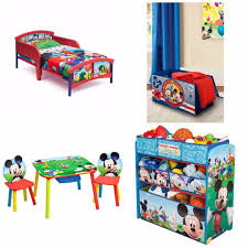 Minnie Mouse Toy Organizer Toddler Bedroom Set Mickey Mouse Bed Toy Organizer Table Chairs
