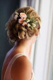 wedding hair flowers fresh flower hair accent wedding accessory wedding fashion