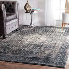 inspired rugs traditional vintage inspired overdyed fancy blue area
