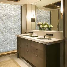 mosaic bathroom tile ideas white of pearl floor tile mosaic seamless subway backsplash